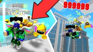 ⭐ THE BEST NINJA IN THE WORLD!! JUMPING AT 9999 METERS | ROBLOX SIMULATOR ⭐