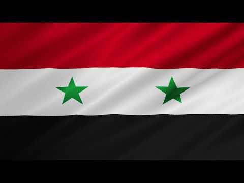 Flag of Syria Waving [ FREE USE]
