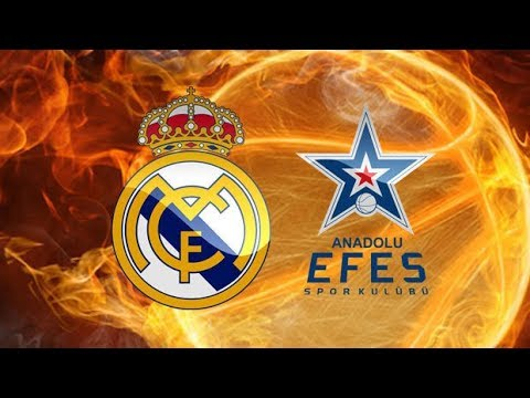 Real Madrid - Anadolu Efes Live Stream | Turkish Airlines Euroleague 25.01.2018