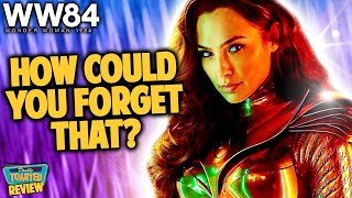 WONDER WOMAN 1984 MOVIE REVIEW | Double Toasted