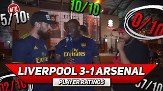 Liverpool 3-1 Arsenal  | Player Ratings | Some Positives But Lots Of Negatives Ft Turkish & Troopz