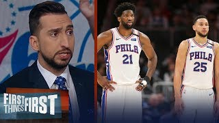 Embiid & Simmons pulled together for a 76ers win vs Clippers — Nick | NBA | FIRST THINGS FIRST