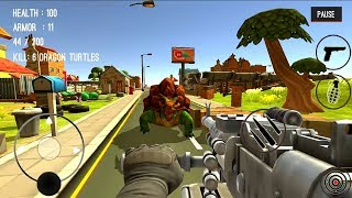 Monster Killing City Shooting III Trigger Strike Android Gameplay #2