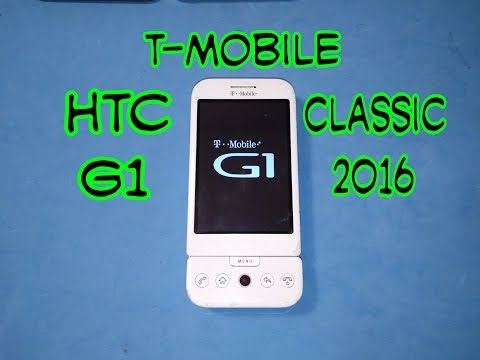 T-Mobile G1 By HTC: First Android Phone | The Classic 2016