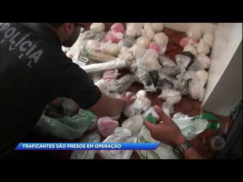 Megaoperação policial prende traficantes na Baixada Santista