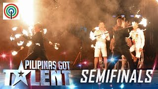 Pilipinas Got Talent Semifinals: Fa Flow Circle - Light And Fire Dance Group
