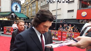 ADAM DRIVER . LAST VIDEO. Going fast