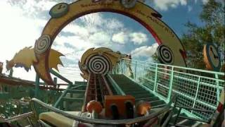 Primeval Whirl POV Full Ride, Disney's Animal Kingdom, Walt Disney World, 1080p HD