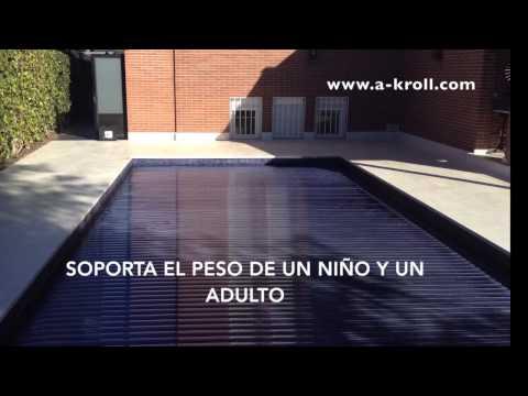 Cubierta de persiana para piscina Láminas solares