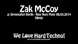 Zak  McCoy @ Spreesafari - Raw Nuts Floor 08.03.2014 - Alte Münze Berlin
