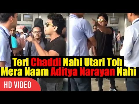 Udit Narayan Son Aditya Narayan Fight With Staff Of IndiGo Airlines At Raipur Airport