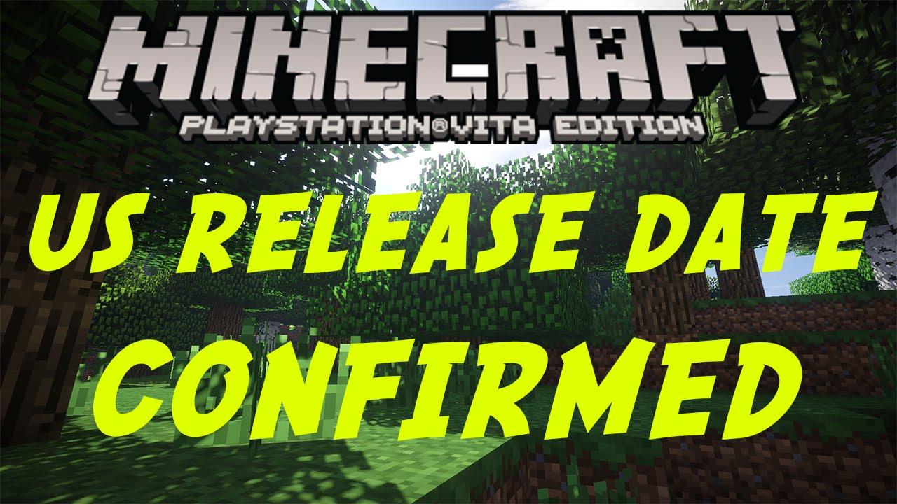 Minecraft ps vita release date in Brisbane
