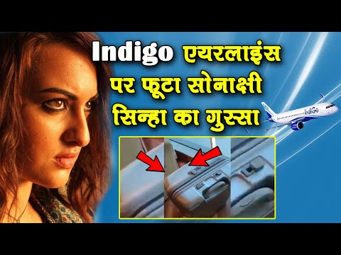 Sonakshi Sinha slams IndiGo for damaging her || Viral Video Mp3