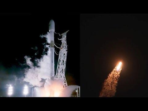 SpaceX Falcon 9 launches PAZ satellite