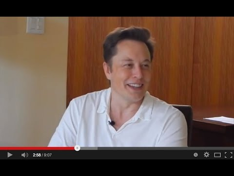 Elon Musk interview