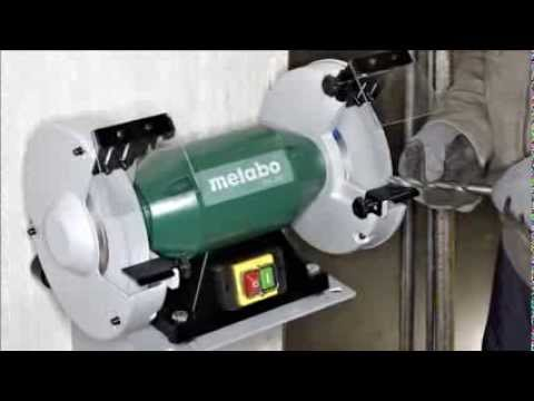 Metabo Ds 200 8 Inch Bench Grinder Youtube