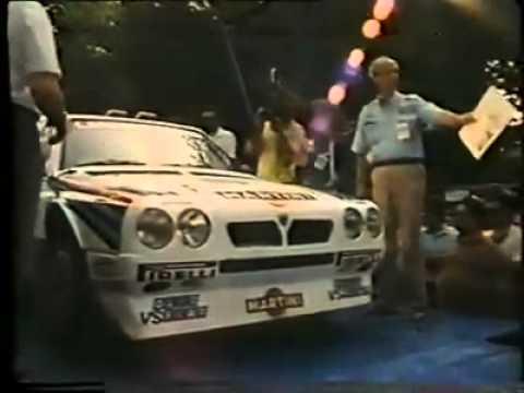 Lancia Delta S4 1st Race Prima Gara Première Course Martini Racing