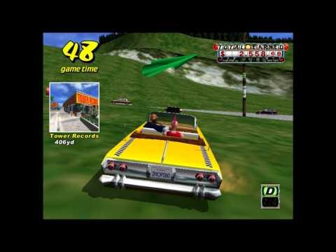 Crazy Taxi Sega Dreamcast 60FPS