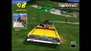 Crazy Taxi Sega Dreamcast 60FPS