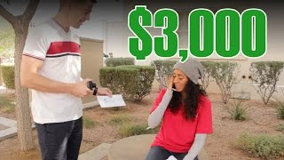 $3,000 For The Homeless!