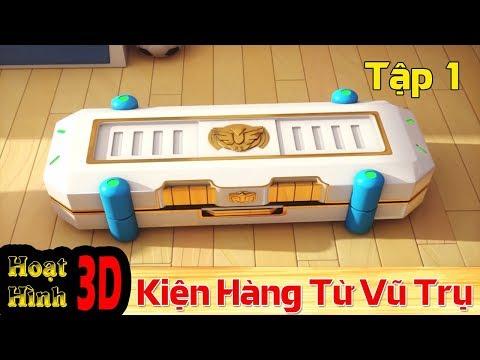 Phim Hoạt Hình Hay Nhất 2018 - Binh Đoàn Người Máy T-Buster- KIỆN HÀNG TỪ VŨ TRỤ - Phim Hoạt Hình 3D