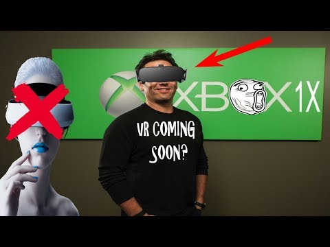 Xbox One X VR Coming Soon? Microsoft VP Hints at Something Big Dropping That Will Rival PSVR...