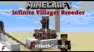 Minecraft Infinite Villager Breeder Tutorial 1.12 & 1.12.1 EASY to Build