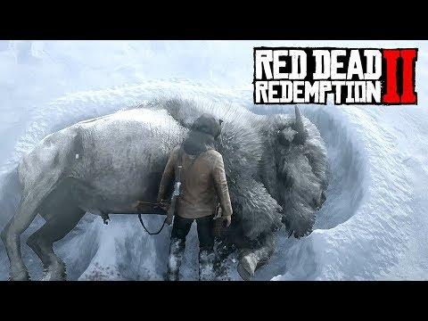 Охота на ЛЕГЕНДАРНОГО БИЗОНА - RED DEAD REDEMPTION Прохождение #13