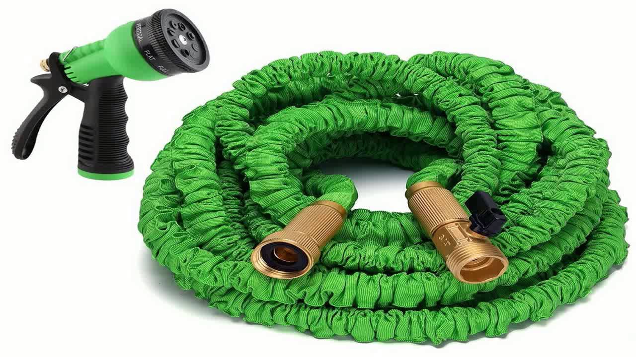 Water Right Professional Coil Garden Hose Lead Free Drinking Water Safe 50  sc 1 st  YouTube & Water Right Professional Coil Garden Hose Lead Free Drinking Water ...