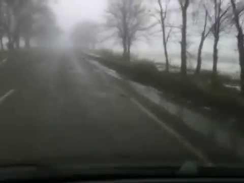 Поворот, на котором 02.02.2015 погиб Кузьма Скрябин