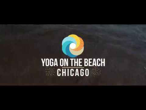 Yoga On The Beach Chicago!