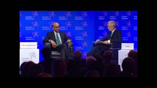 45th St. Gallen Symposium - Interview with Mr Tharman Shanmugaratnam