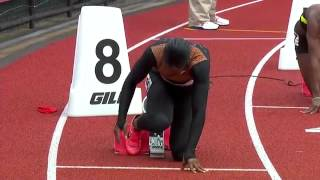2012 USA Track and Field Olympic Trials - Women's 200m