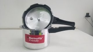 Review Butterfly Friendly Pressure Cooker in Hindi 2019