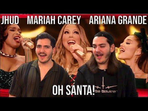 Twin Musicians REACT – Mariah Carey – Oh Santa! ft Ariana Grande & Jennifer Hudson