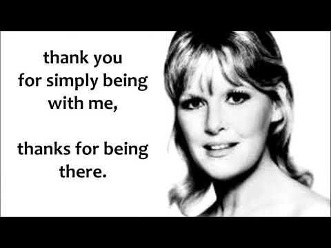 Thank You  PETULA CLARK (with lyrics)