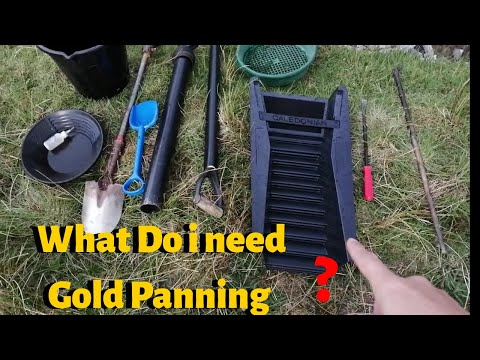 Gold Panning/Gold Prospecting What Equipment Do I Use?