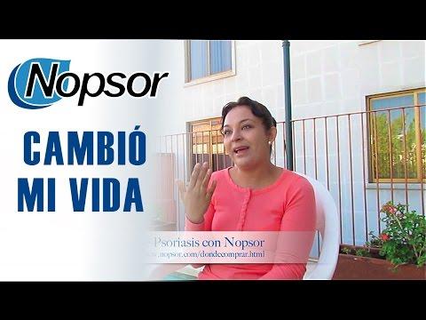 Psoriasis Resultados con Nopsor