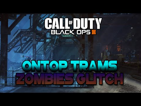 "Black Ops 3 Zombies Glitches: Ontop Of Trams Der Eisendrache ""Bo3 Glitches"" Ontop Map 'Team Glitch'"