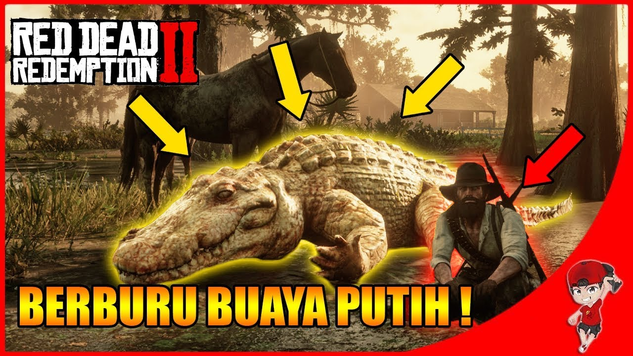 BERBURU SILUMAN BUAYA PUTIH !! - Red Dead Redemption 2 Indonesia