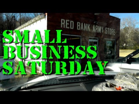Small Business Saturday - Red Bank Army Store