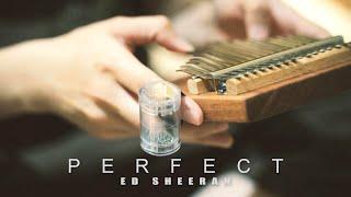 Perfect - Ed Sheeran - Kalimba cover by April Yang