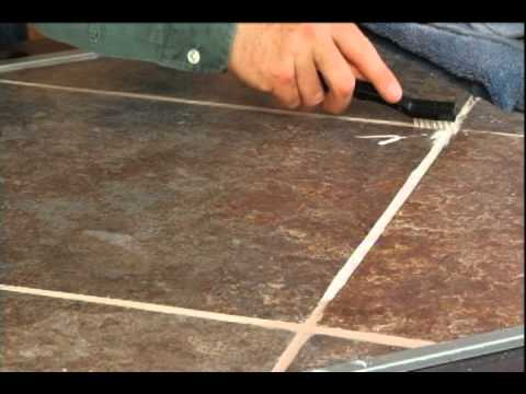 How To Clean Your Tile Grout Youtube