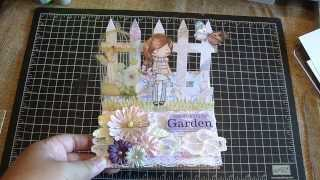 Card Share/easel Card Tutorial And Paper Pad Haul