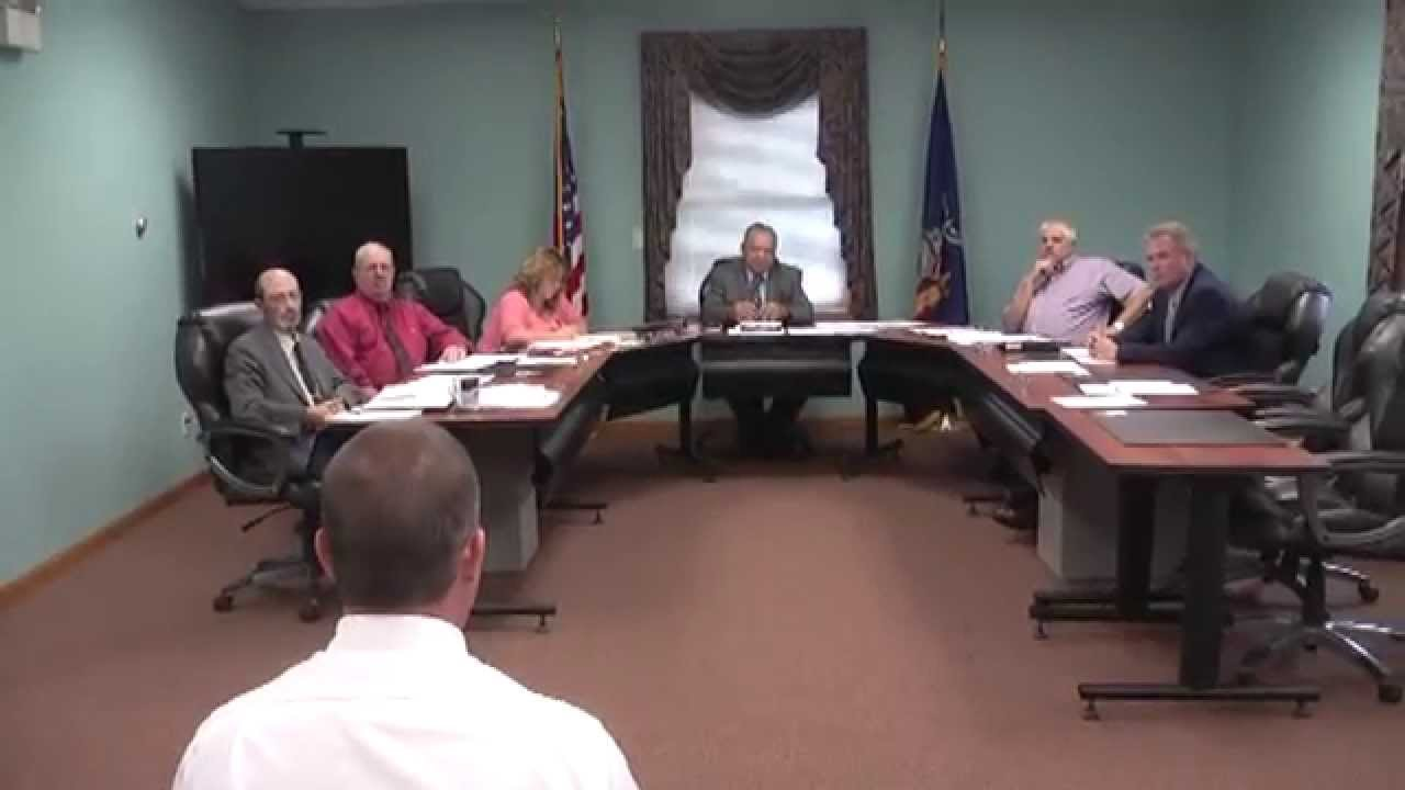 Champlain Town Board Meeting   8-11-15