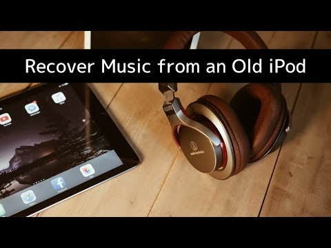 How to Recover Music from an old iPod