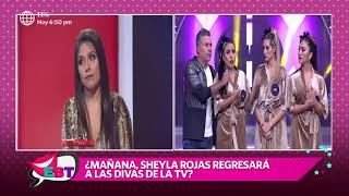 """Tula Rodríguez: """"Sheyla Rojas no es diva, es viva"""""""