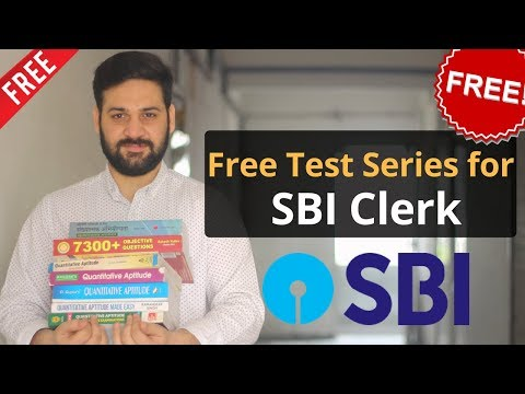 FREE Test Series for SBI Clerk 2018
