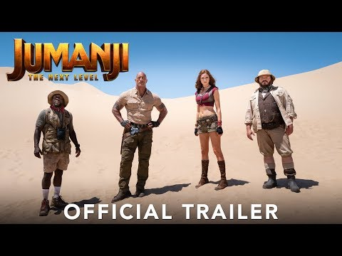 Gavin - Official Trailer For Jumanji: The Next Level Is Here!