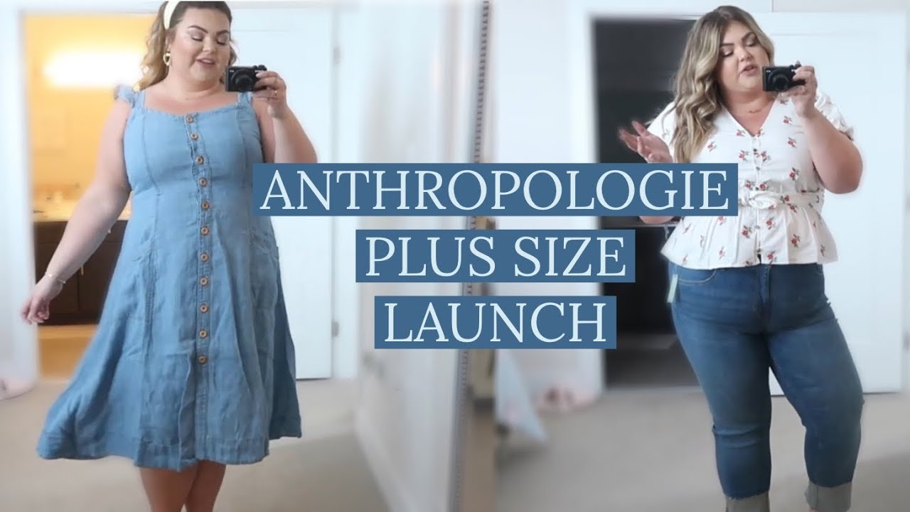 834c32b9e576 Anthropologie Plus Size Try-On Haul - YouTube